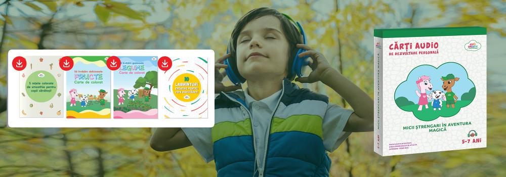 cărți audio pentru copii
