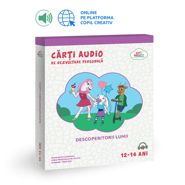 carte audio dezvoltare personală