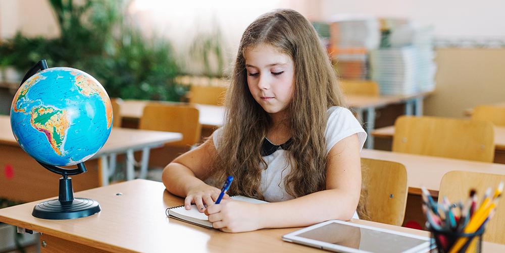 scrisul de mână la copii